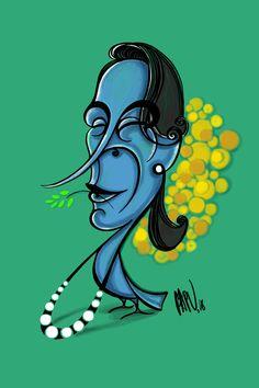 aung san suu kyi #caricature