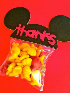 Goody bags for little ones