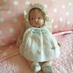 Early Vogue Sunshine Baby 1943-1947 - Rare #Dolls