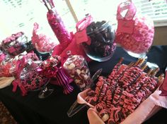 One of our BEST customers doing what she does best! #bulkcandy #pinkcandy http://www.sweetservings.com