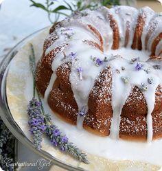 Centsational Girl » Blog Archive Lavender Lemon Cake - Centsational Girl