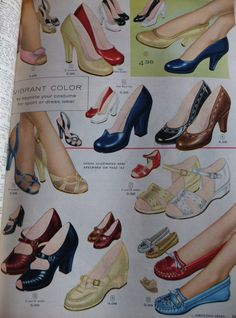 vintage shoe catalog   ... order from the below catalogs. What top two pairs would you purchase