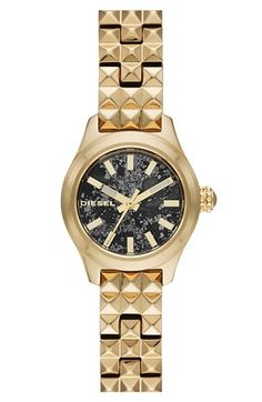 DIESEL® 'Cray Cray' Mini Bracelet Watch, 22mm available at #Nordstrom