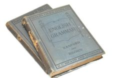 Early 1900s Text Books Set of English Grammar by PatinaAndCole, $22.99