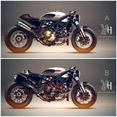 Ducati Cafe Racer Design 1098 Streetfighter by...