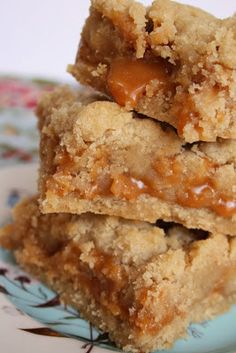 Caramel Bars - These are one of my favorite goodies these days! A total crowd pleaser!