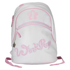 Winkipop Dotty Day Pack - Stylish Pink and Polka Dot Backpack! Great for  older girls 466787b2703a4