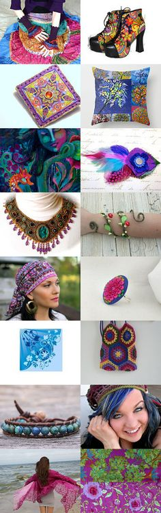 Her #Gypsy Spirit by JoJo on Etsy