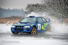 Subaru Impreza #1 Rally Car; Co-Piloted by Colin McRae