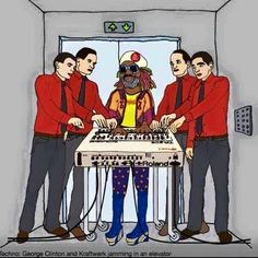 George Clinton and Kraftwerk with TR-909