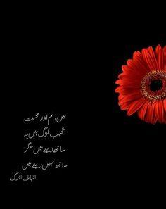 Itebaf albrk Urdu Quotes, Poetry Quotes, Sufi Poetry, Arm Warmers, Dandelion, Diaries, Roman, Writing, Blue
