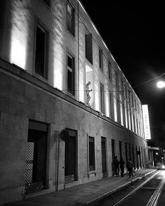 #Torino #Turin #urbansafari #AuditoriumRai #night #lights #shadows