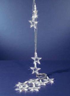 LED-Lichterkette mit Sternen für außen 5 m Länge