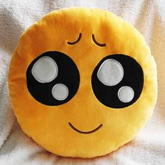 Emoji Decorative Throw Pillow Stuffed Smiley Cushion Home Decor For Sofa Couch Chair Toy Emotional Smile Face Doll 1PCS/Lot