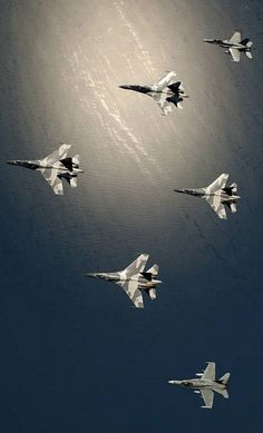 Australian F/A-18 Hornet fighter jets and Indonesian Sukhoi Su-30 Flanker fighter jets