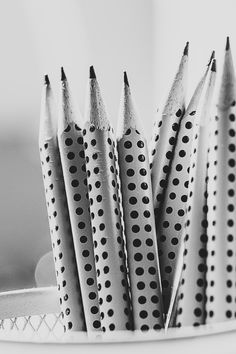 Free download of this photo: https://www.pexels.com/photo/grayscale-photography-of-pencil-inside-round-basket-85917/ #black-and-white #macro #pencils