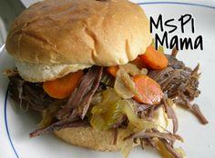 MSPI Mama: Coca-Cola Braised Roast Beef Sandwiches