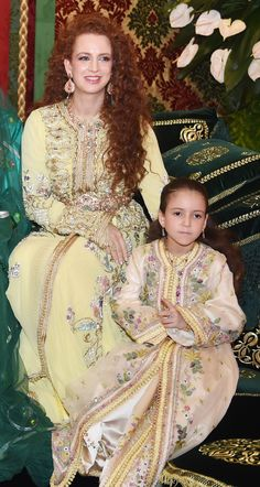 Royal Moroccan caftan