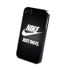 New Nike Just Do It Black Grill Print On Hard Plastic Case For iPhone 6s 6s plus…
