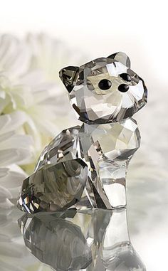 Swarovski Crystal LovLots Figurine House of Cats CAT ALEXANDER #1119917 - Zhannel  - 1