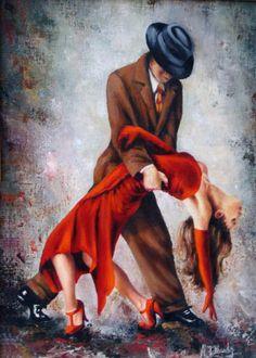 Lujan Gallardo, Tango