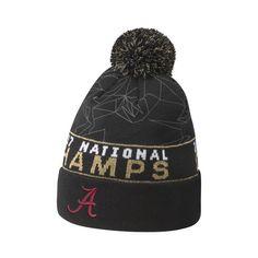 dc5c3081df0 Alabama Crimson Tide Nike College Football Playoff 2017 National Champions  Celebration Cuffed Pom Knit Hat – Black