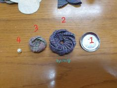 Fabric Flowers, Stud Earrings, Deco, Tejidos, Flowers, Japanese Language, Objects, Burlap Flowers, Stud Earring