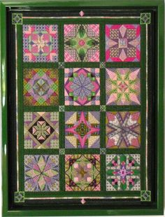 Stars for the New Millennium Tony Minieri charted needlepoint Needlepoint Designs, Needlepoint Stitches, Needlepoint Canvases, Needlework, Cross Stitch Embroidery, Cross Stitch Patterns, Bargello Quilts, Canvas Designs, Plastic Canvas Crafts