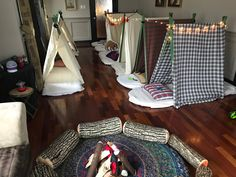 Authentic Maritime Glamping - Camping holidays in Nova Scotia. East Coast Glamping is the specialist in luxury boutique bell tent rentals and experiences Camping Parties, Slumber Parties, Birthday Parties, Happy 10th Birthday, Bell Tent, Nova Scotia, Glamping, Campers, Toddler Bed