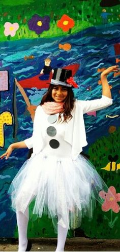 """Olaf """"In Summer"""" Costume Olaf Halloween Costume, Olaf Summer, Princess Tutu Dresses, Lumpy Space Princess, Family Costumes, Frozen Party, Ice Queen, Harajuku, Dress Up"""