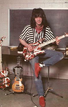 Still some unbelievable riff's from this guy Eddie Van Halen, Alex Van Halen, Just Beautiful Men, Most Beautiful People, Van Hagar, Rock And Roll Fantasy, David Lee Roth, Steve Vai, Old School Music