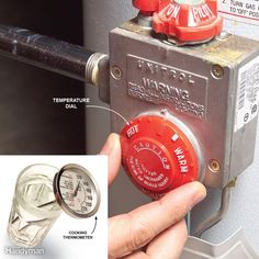 Avoid a Scalding by Setting Your Water Heater to 120 Degrees Clean Dryer Vent, Motion Detector, Sump Pump, Toilet Cleaning, Diy Cleaners, Heating And Cooling, Cleaning Hacks, Cleaning Recipes, Cleaning Supplies