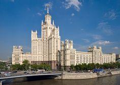 Жилой дом на Котельнической набережной (Kotelnicheskaya Embankment Building) - One of Seven Sisters, Stalin's skyscrapers (Stalinskie Vysotki - Сталинские высотки)