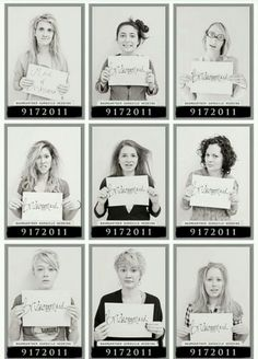 I think some of these ideas are pretty cool, like the paint ball one and this cool mug shots!