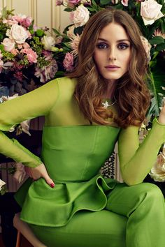 Olivia Palermo Stars in Marie Claire Spain February 2013 Cover Shoot by Nacho Alegre | Fashion Gone Rogue: The Latest in Editorials and Campaigns