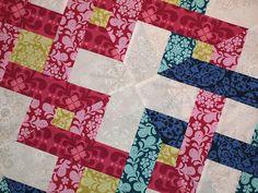 Sampaguita Quilts: Interlinked blocks