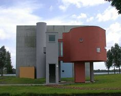 Architecture, Wall House Orange Storey Design Building Top Designers Architecture Red Retail Bathroom Architect Hotel Designers Architects Residential Best Designs Contemporary Inspi: Cool, John Hejduk's Study On Architectural Form and Function