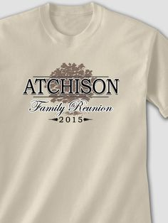 Sand Classic Family Reunion Personalized tshirt
