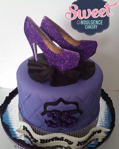 Purple shoe cake wedding cake, birthday cake, custom cake, baby shower cake