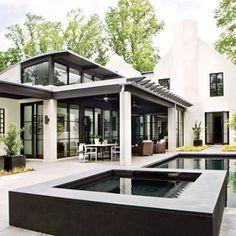 bradleyeheppnerarchitecturellc (@bradleyeheppnerarchitecture) • Instagram photos and videos Amazing Architecture, Modern Architecture, Residential Architecture, Exterior Design, Interior And Exterior, Modern Exterior, Exterior Colors, Exterior Paint, Atlanta Homes