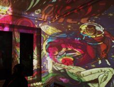 Van Nutt Psychedelic Lightshow / Davos 2013