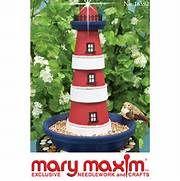 Mary Maxim - Clay Pot Lighthouse Pattern
