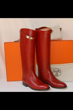 Hermes Boots ♥ ♥ ♥