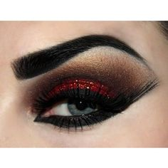 Christmas Dinner? Create a Red Smoky Eye Look | Daily Beauty Blog