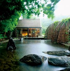 Nature is one with this vacation home