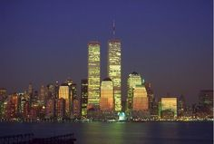 Now they are gone, but never forgotten, Was an Amazing NYC Skyline