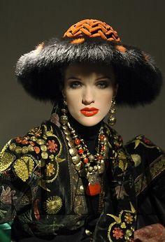 Russian fashion designer Slava Zaitsev