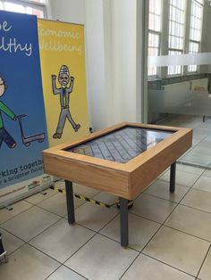 Jun 2015 - My Route touch table situated at Muath Trust, Bordesley Centre, Birmingham. The road shows the history of the Stratford Road, Birmingham, I was responsible for the data behind the visualisation and the design.