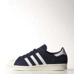 adidas - Superstar 80s Vintage Deluxe Suede Shoes