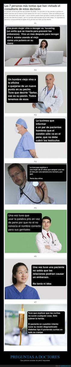 PREGUNTAS A DOCTORES